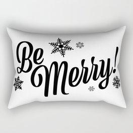 Be Merry! Rectangular Pillow