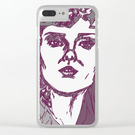 Someday I'll Forget Clear iPhone Case