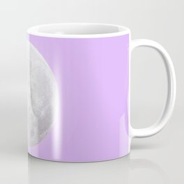 WHITE MOON + LAVENDER SKY Coffee Mug