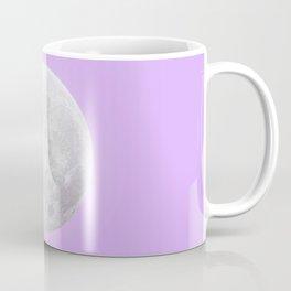 WHITE MOON + LAVENDER SKY Coffee Mug