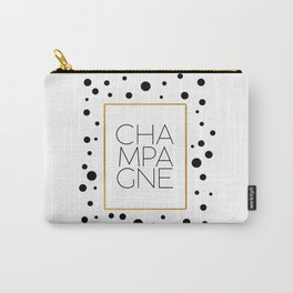 Celebration,Bar Quote,Typography Print,Drink Champagne,Champagne Sign,Wall artwork,Bar Poster Carry-All Pouch