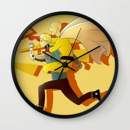 Piggyback Wall Clock