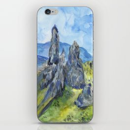 Old Man of Storr iPhone Skin