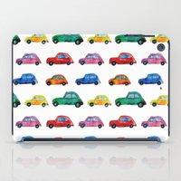 italian iPad Cases featuring Italian cars  by Katerina Izotova