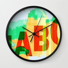 Greetings from Naboo Wall Clock