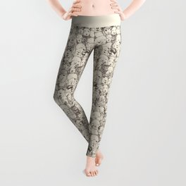 just alpacas natural Leggings