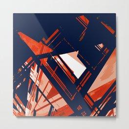 Static1, rwb Metal Print