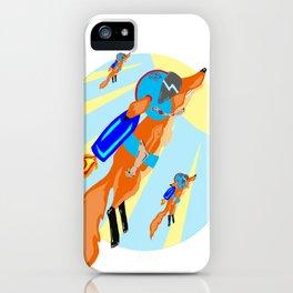 Rocket Fox Brigade iPhone Case