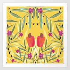 Samba do Caju Art Print
