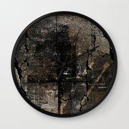 The Brown Stone Wall Clock
