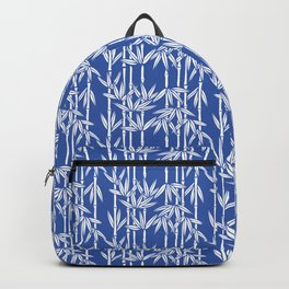 Bamboo Rainfall in China Blue/Seashell White Backpack