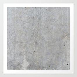 Concrete wall texture Art Print