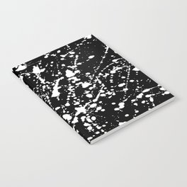 Splat Black Notebook