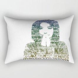 Bjork Human Behaviour  Rectangular Pillow
