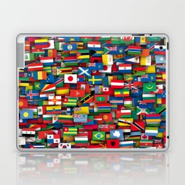 Flags of all countries of the world Laptop & iPad Skin