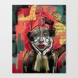 Min Canvas Print