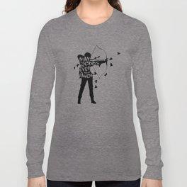the Girl on Fire Long Sleeve T-shirt