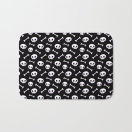 Cute Skulls Bath Mat