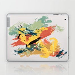 Intuitive Conversations, Abstract Mid Century Colors Laptop & iPad Skin