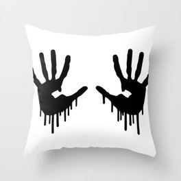 Dripping hangs Death Game Stranding  Throw Pillow