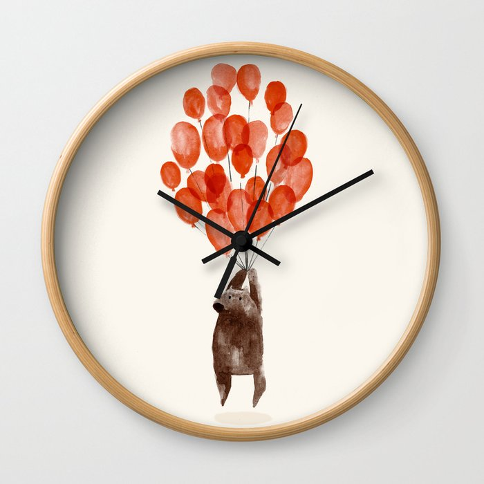 Almost take off Wall Clock