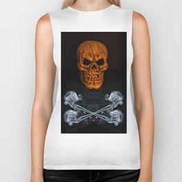 Skull And Crossbones 2 Biker Tank