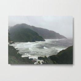 Pacific Storm Metal Print