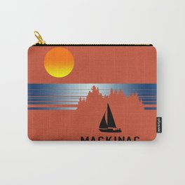Vintage Mackinac Carry-All Pouch