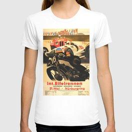 Nurburgring Race, vintage poster T-shirt