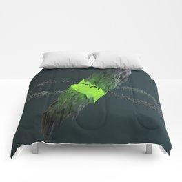 Gravitational Fracture Comforters