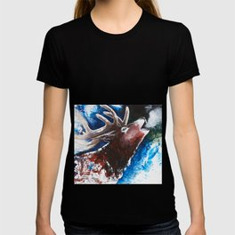 Deer - Valentine - animal by LiliFlore T-shirt
