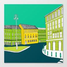 CITY CENTRE // TOWN Canvas Print