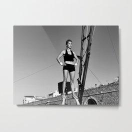 GO d'Azur acrobatique Metal Print