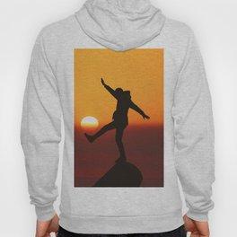 She Kicks the Sun (Color) Hoody