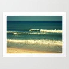 The Surfer Guy Art Print