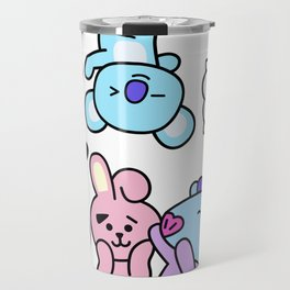 BT21 BTS Run Episode 33 Inspired Travel Mug