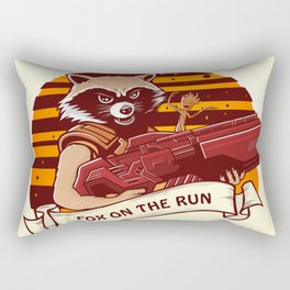 Rocket Raccoon / Fox on the Run Rectangular Pillow