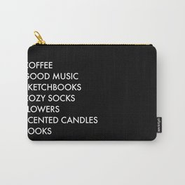 Nice Things Carry-All Pouch