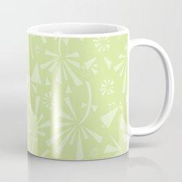 Green Spring Pattern Coffee Mug