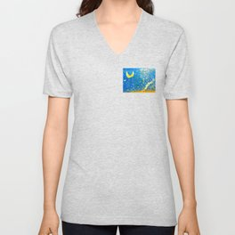 Cliffs of Moher: Crescent Moon Unisex V-Neck