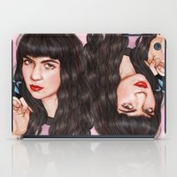 grimes iPad Cases featuring Grimes III  by Helen Green
