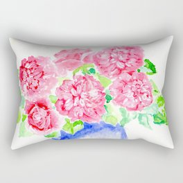 Old Garden Roses Rectangular Pillow