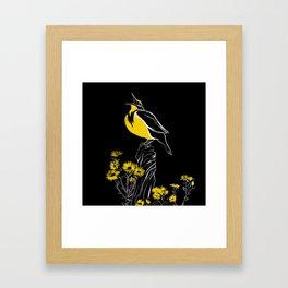 Meadow Lark Framed Art Print