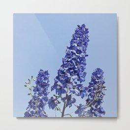 blue blue blue IV Metal Print