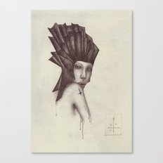 cross / scar Canvas Print