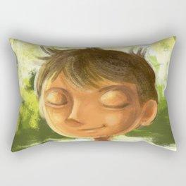 Enjoying nature Rectangular Pillow