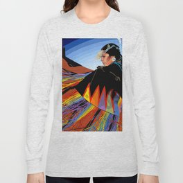 Shawl Dancer Long Sleeve T-shirt