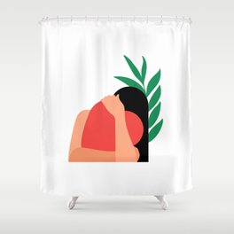 Lovers 1# Shower Curtain