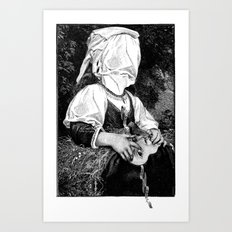 Hidden personality Art Print