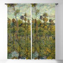 Vincent van Gogh - Sunset at Montmajour Blackout Curtain